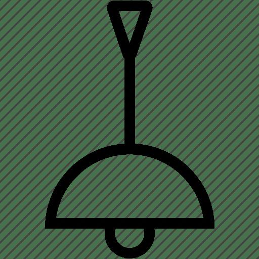 Ceiling lamp, ceiling light, light icon