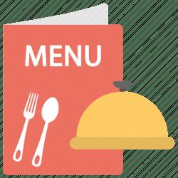 menu food restaurant icon template icons wingos hotel location editor open