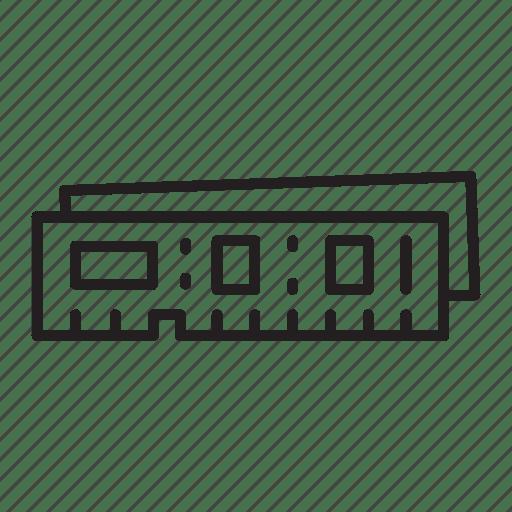 Accessories, chip, computer, it, memory, pc, ram icon