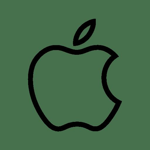 Apple, social icon