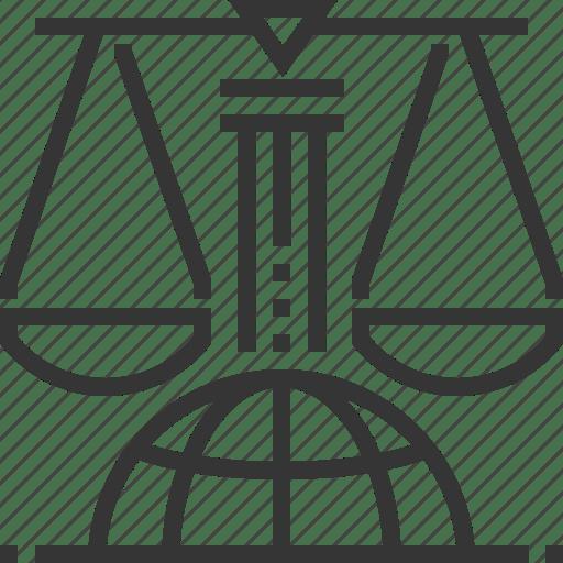 Business, globe, international law, justice, measure
