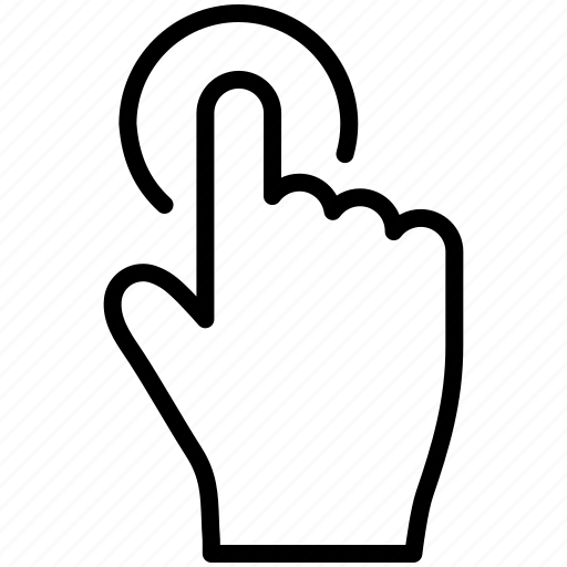 Control, doorbell, drag, finger, gesture, gestureworks