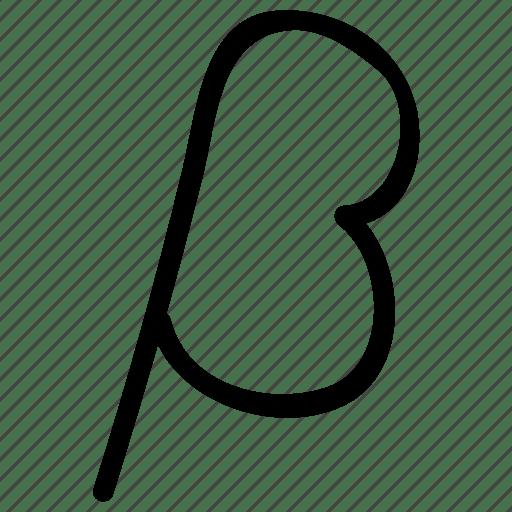 Beta, greek alphabet letter, greek letter, greek letter