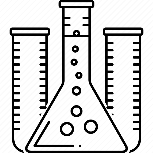 Chemistry, lab, laboratory, research, test, tube icon