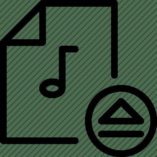 Eject, insert, load, load-music-doc, media-control, media
