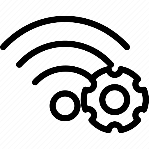 Configuration, settings, tools, wifi, wireless icon