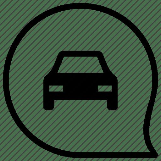 Auto, automobile, car, drive, form icon
