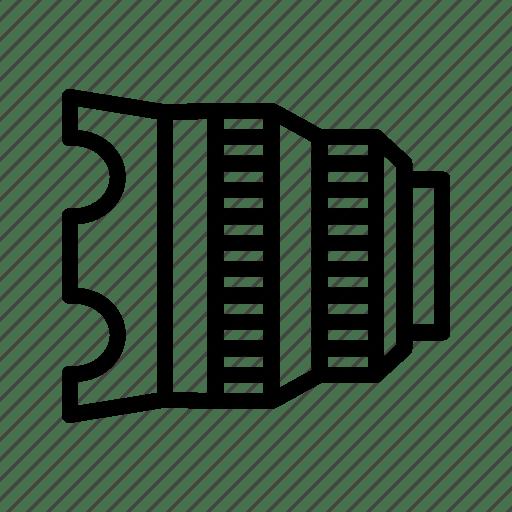 Cine glass, cinema lens, lens, lens hood, manual lens