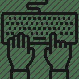 Code, coding, hands, keyboard, program, programming