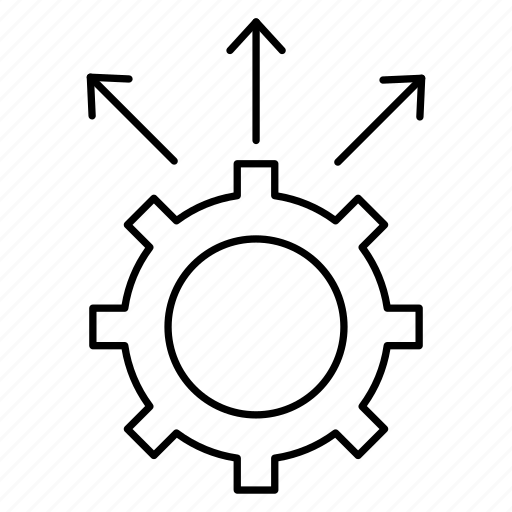 Configure, gear, options, preference, setting icon