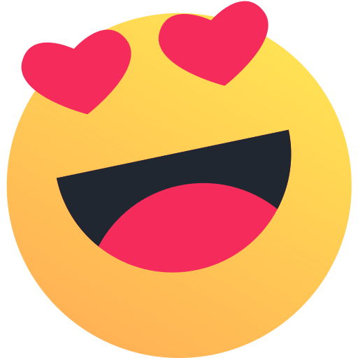 Emoji, emoticon, heart, like, love, reaction, valentine icon