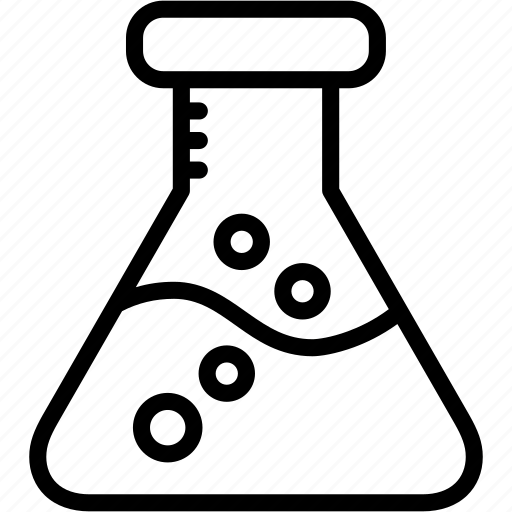 Chemistry, erlenmeyer, flask, laboratory, research