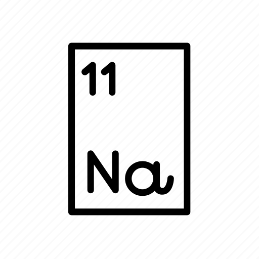 Atomic number, chemical, element, na, periodic table