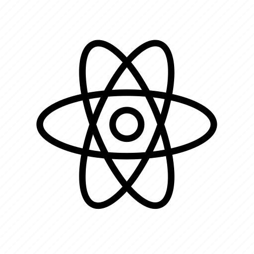 Atom, atomic, electron, energy, nuclear, power, science icon