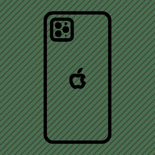 Apple, iphone 11pro, mobile, phone, smartphone icon