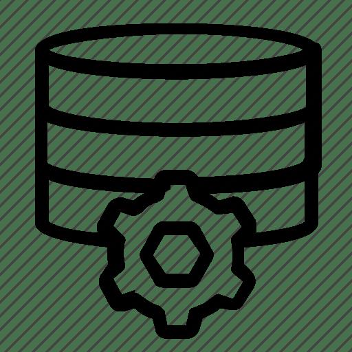 Database, server, settings, setup icon
