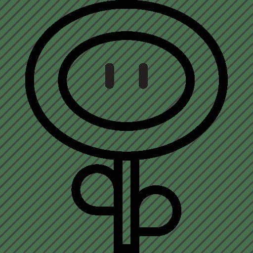 Fireflower, game, gaming, mario, play, upgrade icon