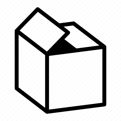 Box, dpid, empty, item, material, object, package icon