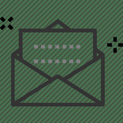 Email, envelope, feedback, inbox, letter, request