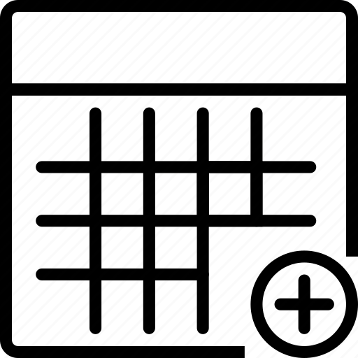 Calculator, calculus, circle, math, plus, square icon