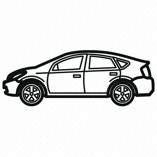 Auto, car, hybrid, hybrid car, vehicle icon