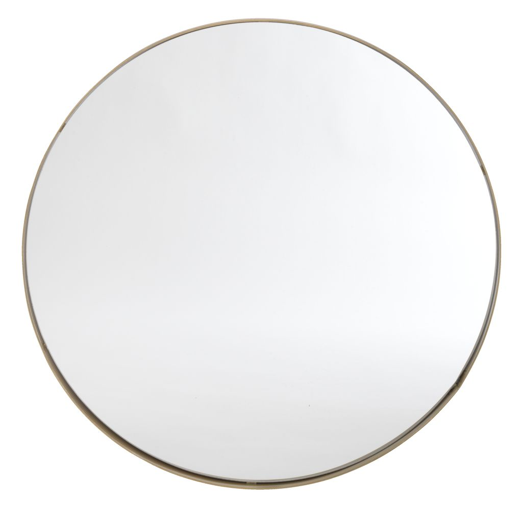 Spejl Marstal O70 Guld Jysk