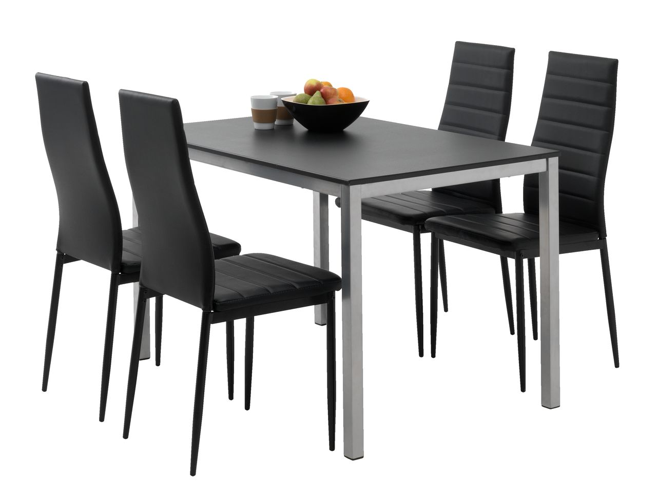 jysk dining room chair covers small modern kitchen table and chairs gelsted l117 43 4 toreby black