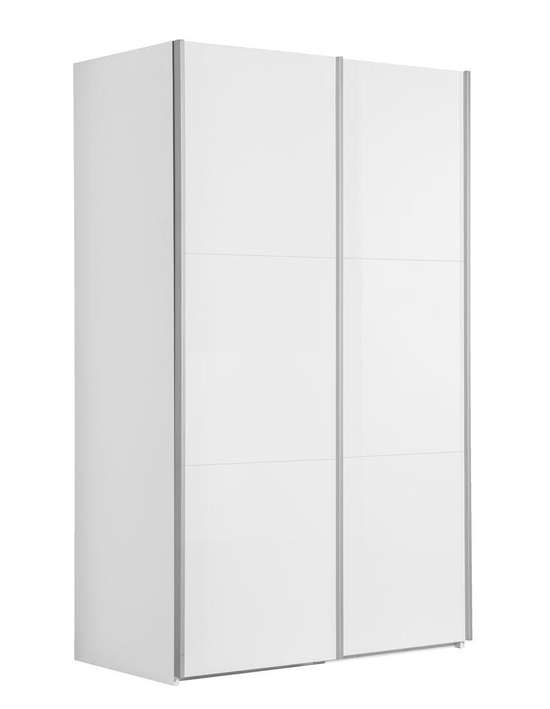 Kledingkast ONSTED 120x201 wit hoogglans  JYSK