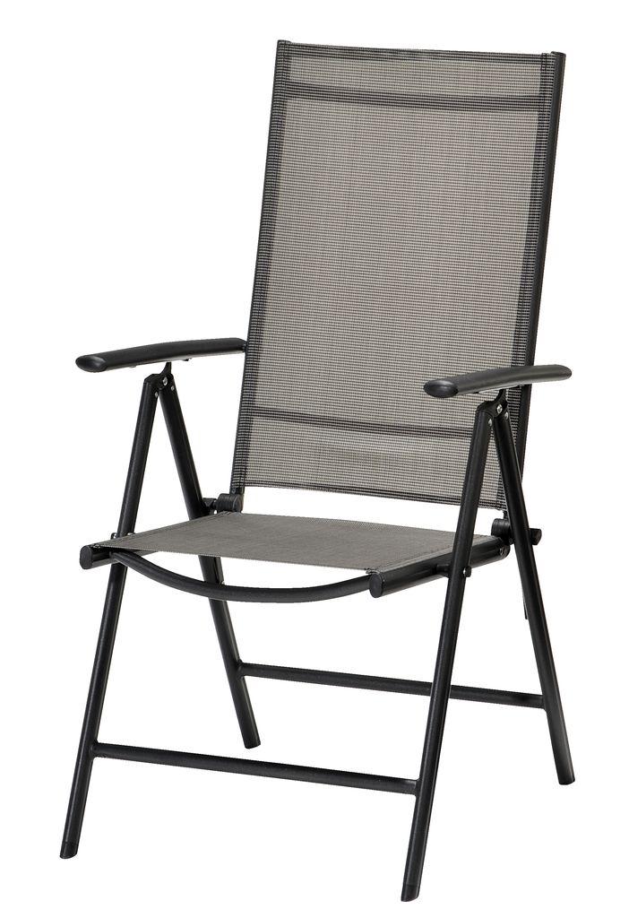 5Standenstoel MELLBY zwart  JYSK