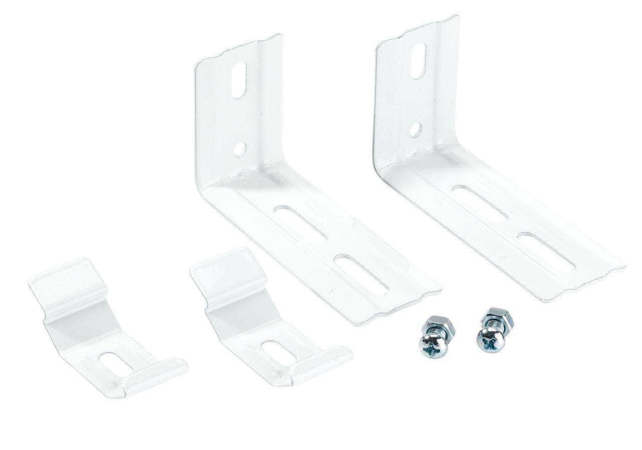 Haken voor verticale lamellen wit  JYSK