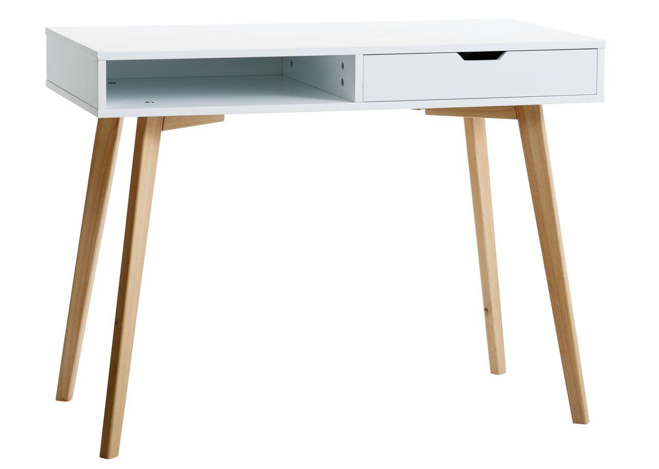 desk chair jysk shooting with rest tamholt 1 drawer white oak