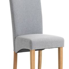 Light Wood Dining Chairs Slipcover Wingback Chair Borup Grey Ash Jysk