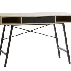 Desk Chair Jysk Covers For Outdoor Furniture Abbetved 48x120 Cm Oak Black
