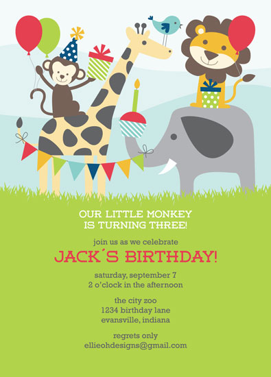 Birthday Invitations Minted