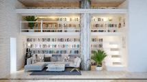 White Home Library