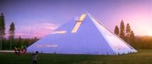 Pyramid House - Architectral Visualization Juan Carlos