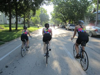 Moxie Ladies on RAGBRAI