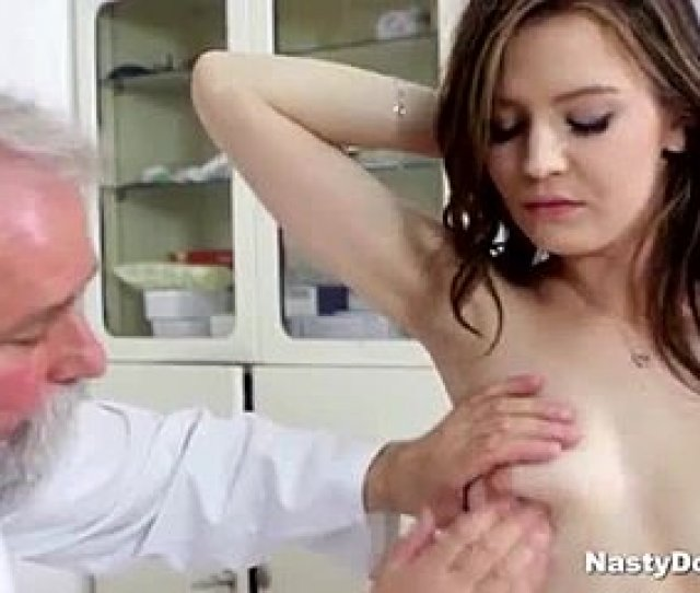 Bent Over Grandfather Masturbation Fingering Doggystyle Sucking Patient
