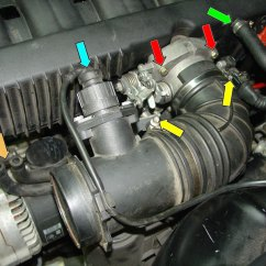 1996 Bmw Z3 Wiring Diagram Detailed Motherboard E36 3-series Intake Manifold Removal (1992 - 1999) | Pelican Parts Diy Maintenance Article