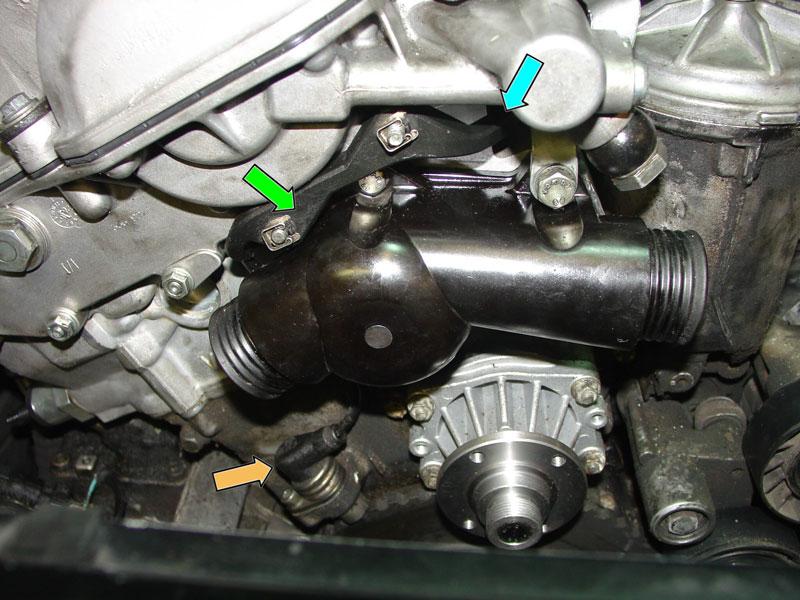2007 chrysler sebring wiring diagram ford ka bmw e30/e36 crankshaft position sensor replacement | 3-series (1983-1999) pelican parts diy ...