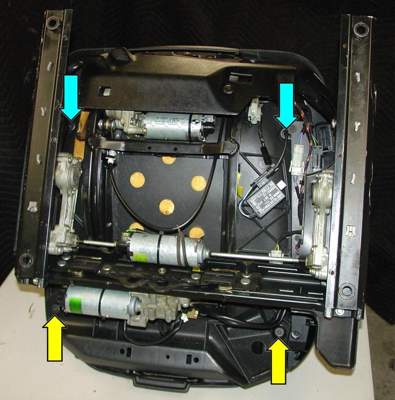 BMW E36 3Series Power Seat Repair 1992  1999  Pelican