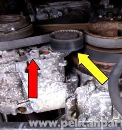 bmw e46 drive belt replacement bmw 325i 2001 2005 bmw 325xi 2004 bmw 325i belt diagram 2004 bmw 325i belt diagram [ 2592 x 1728 Pixel ]