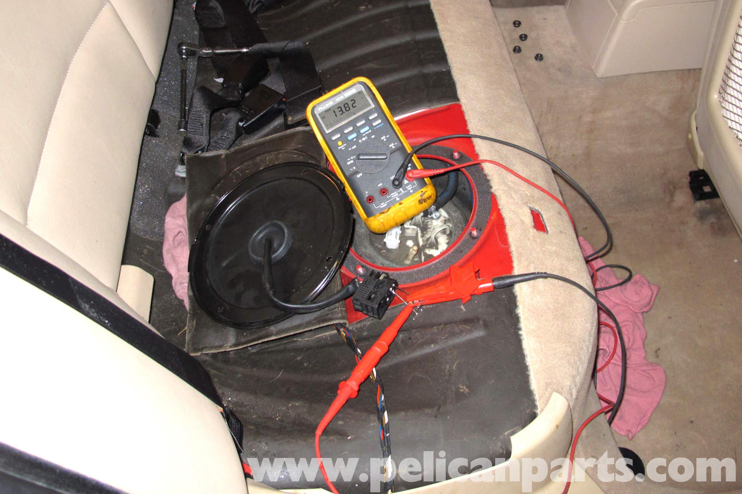 Bosch Fuel Gauge Wiring Diagram Bmw E46 Fuel Pump Testing Bmw 325i 2001 2005 Bmw