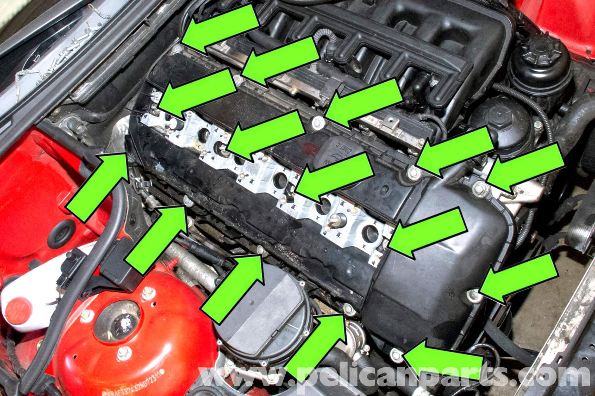 hight resolution of bmw e46 valve cover removal bmw 325i 2001 2005 bmw 325xi 2001 bmw e48 bmw e46 wire fasteners