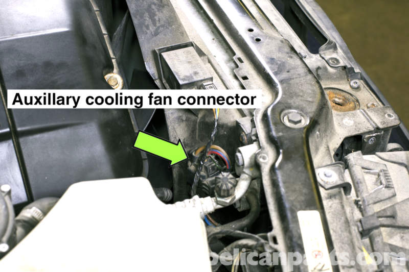 Xi Engine Diagram Bmw E46 Cooling Fan Replacement Bmw 325i 2001 2005