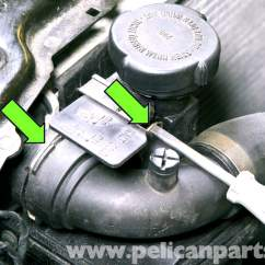 Bmw E46 Radiator Diagram 1996 Honda Civic Distributor Wiring Coolant Expansion Tank Replacement 325i