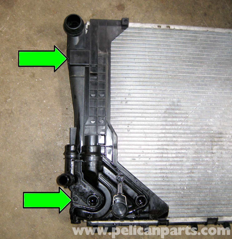 bmw e46 radiator diagram jeep wrangler tj wiring replacement 325i 2001 2005