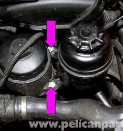 large image extra large image lift the power steering reservoir up so you can access the hoses  [ 2592 x 1728 Pixel ]