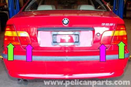 small resolution of bmw e46 rear tail light replacement bmw 325i 2001 2005 2003 bmw 325i 2005 bmw 325i
