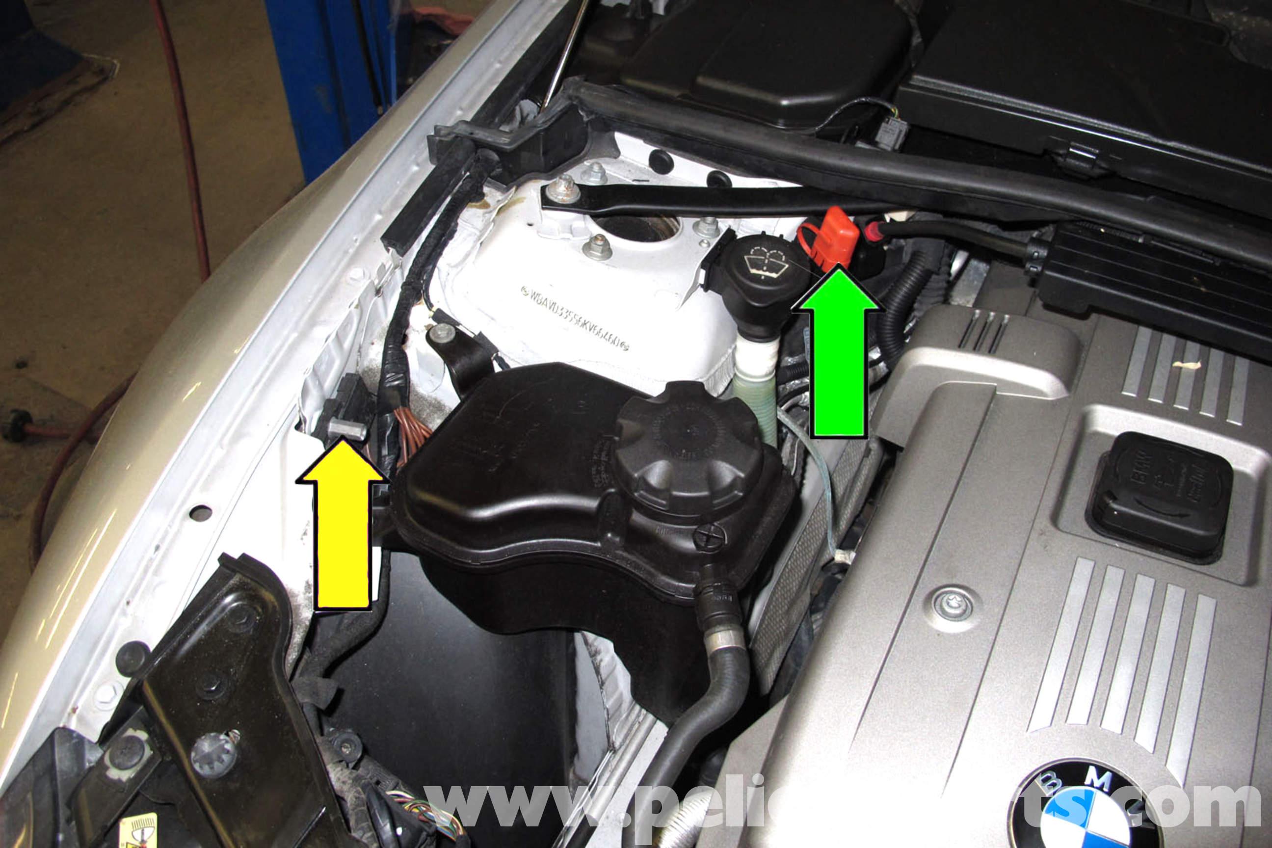 2008 Bmw Z4 Fuse Box Bmw E90 Battery Replacement E91 E92 E93 Pelican